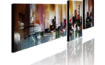 Få noget på væggene – køb et sæt billige malerier